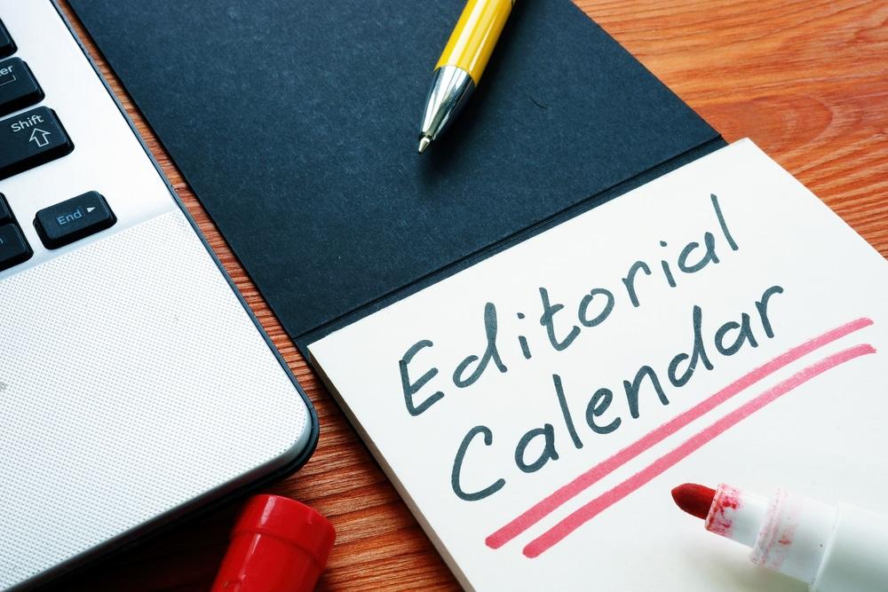 Le calendrier éditorial dans la stratégie de content marketing